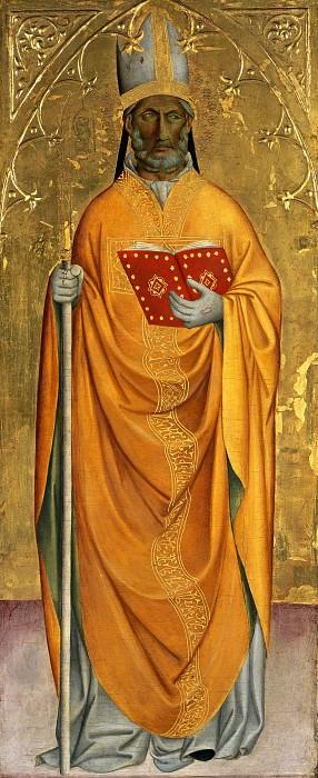 Cennino Cennini (c.1370-c.1440) - St. Bishop. Part 1