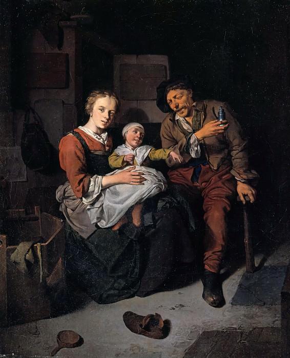 Cornelis Bega (1631-1664) - Family farmers. Part 1
