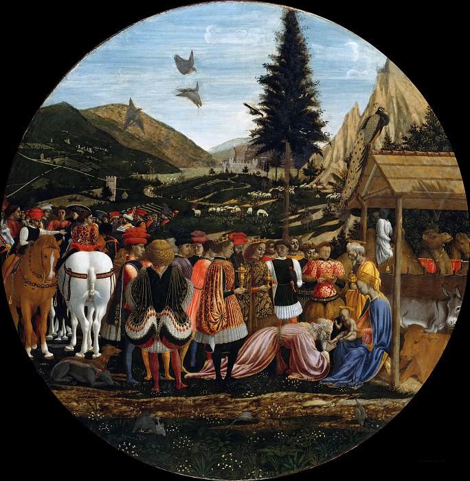 Domenico Veneziano (c.1410-1461) - Adoration of the Magi. Part 1