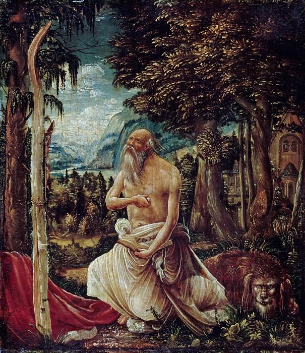 Albrecht Altdorfer (c.1480-1538) - The Penance of Saint Jerome. Part 1