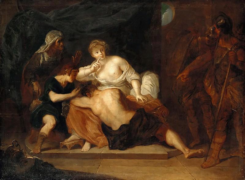 Antoine Pesne (1683-1757) - Samson and Delilah. Part 1