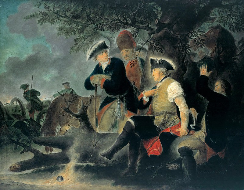 Christian Bernhard Rode (1725-1797) - Frederick the Great and the surgeon. Part 1
