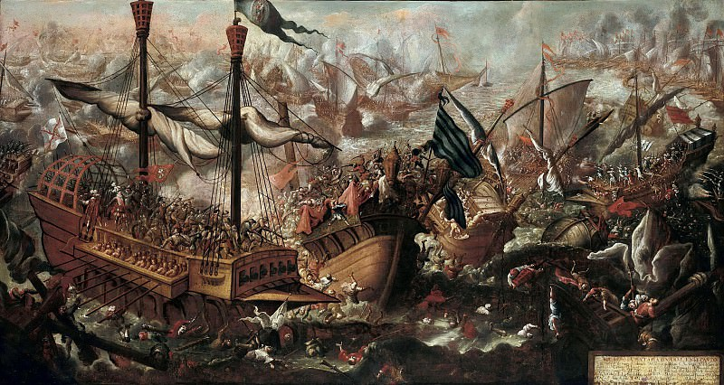 Deutsch (17c.) - The Battle of Lepanto. Part 1