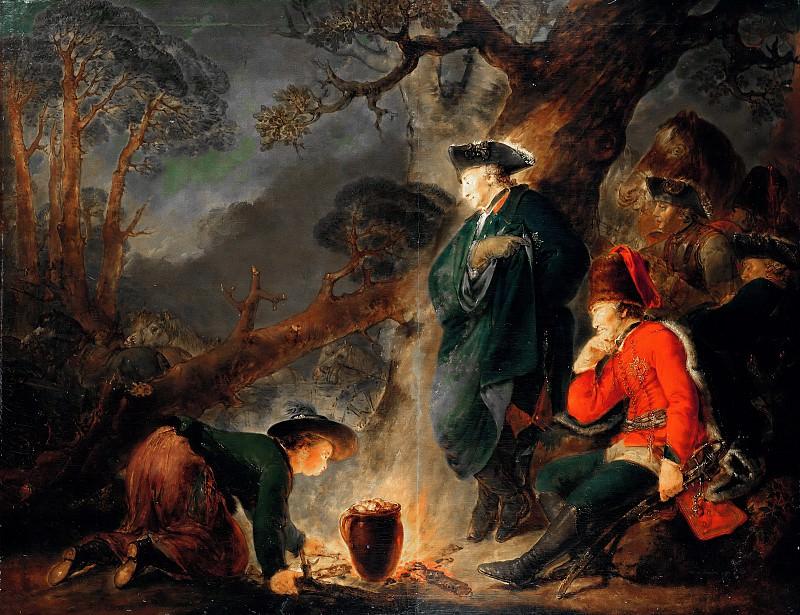 Christian Bernhard Rode (1725-1797) - Friedrich der Grosse vor der Schlacht bei Torgau. Part 1