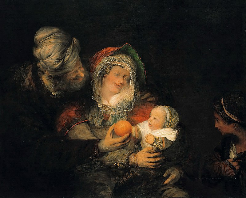 Arent de Gelder (1645-1727) - The Holy Family. Part 1