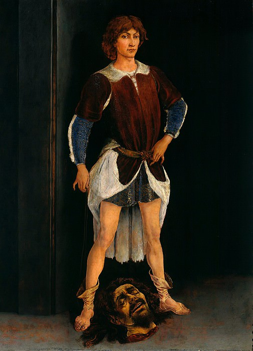 Antonio del Pollaiuolo (1431-1498) - David as the winner. Part 1