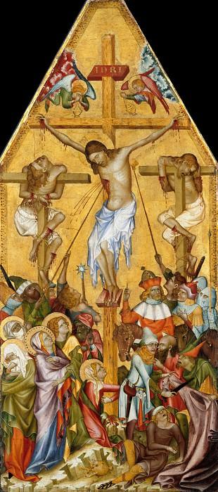 Bohemian master - The Crucifixion. Part 1