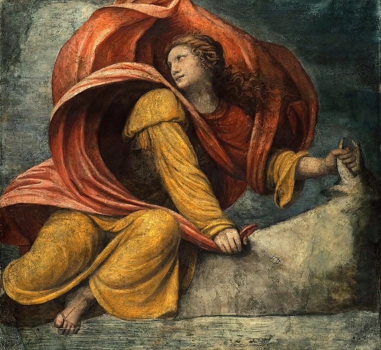 Bernardino Luini (1480-1532) - The Myth of Europe - the abduction of Europa. Part 1
