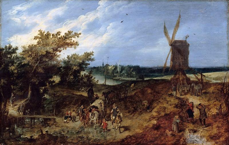Венне, Адриан ван де (1589-1662) - Лето. Часть 1