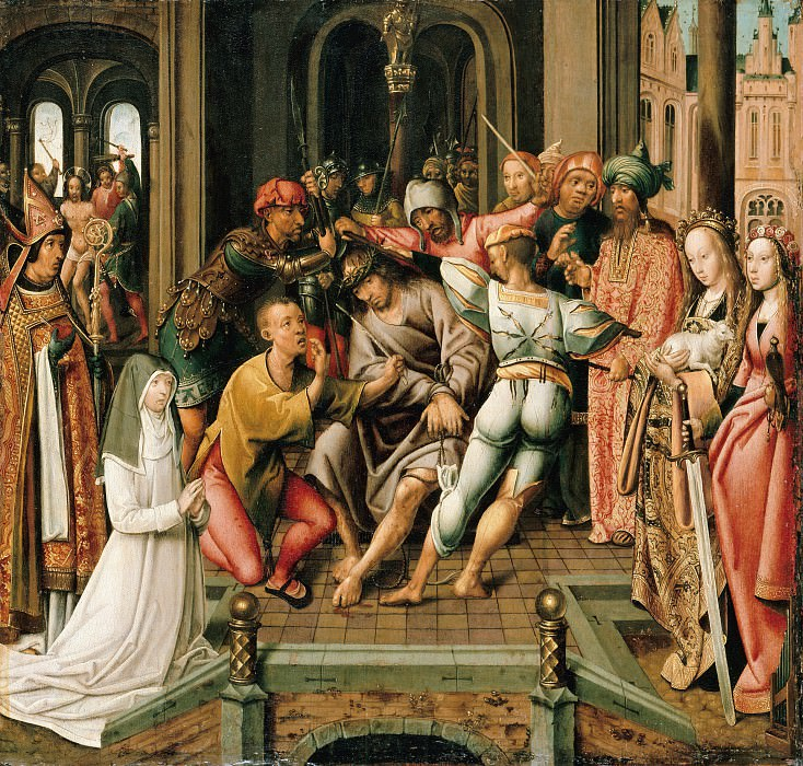 Cornelis Engebrechtsz (1468-1533) - Crown of Thorns. Part 1