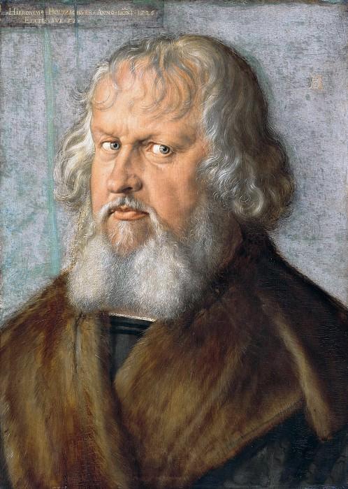 Дюрер, Альбрехт (1471-1528) - Иероним Гольцшухер. Часть 1