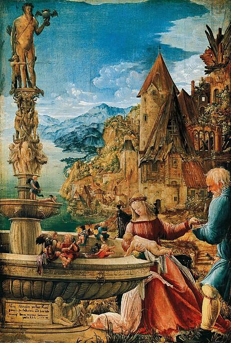 Albrecht Altdorfer (c.1480-1538) - Rest on the Flight into Egypt. Part 1