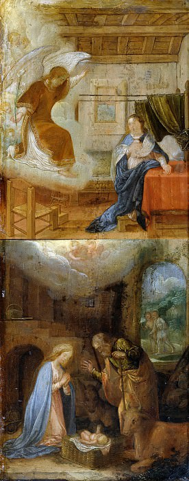 Adam Elsheimer (1578-1610) - Scenes from the life of Mary. Part 1