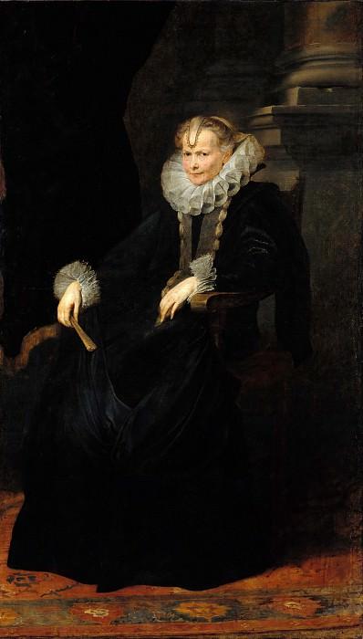 Anton Van Dyck (1599-1641) - Portrait of a Genoese Noblewoman. Part 1