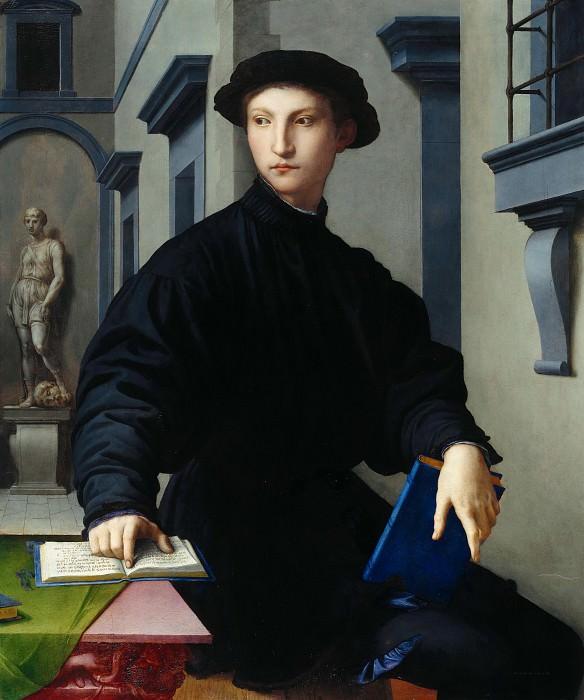Бронзино, Аньоло (1503-1572) - Портрет Уголино Мартелли. Часть 1