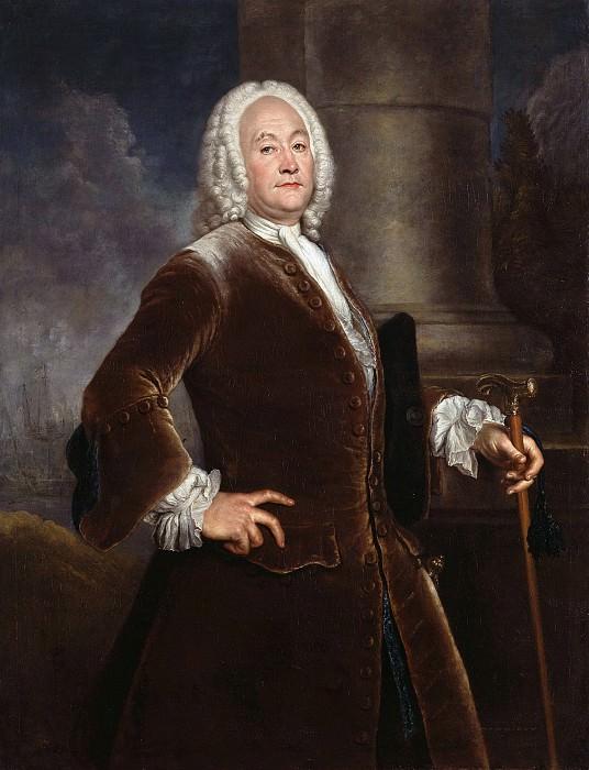Antoine Pesne (1683-1757) - The London merchant Henry Voguell. Part 1