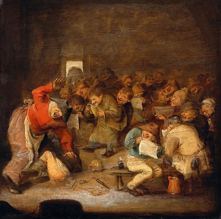 Adriaen Brouwer (1605-06-1638) - The school. Part 1