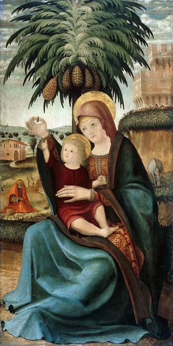 Venetian school (c.1500) - The Rest on the Flight to Egypt. Part 1