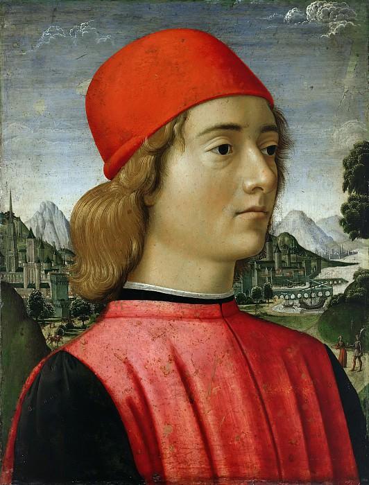 Davide Ghirlandaio (1452-1525) - Portrait of a young man. Part 1