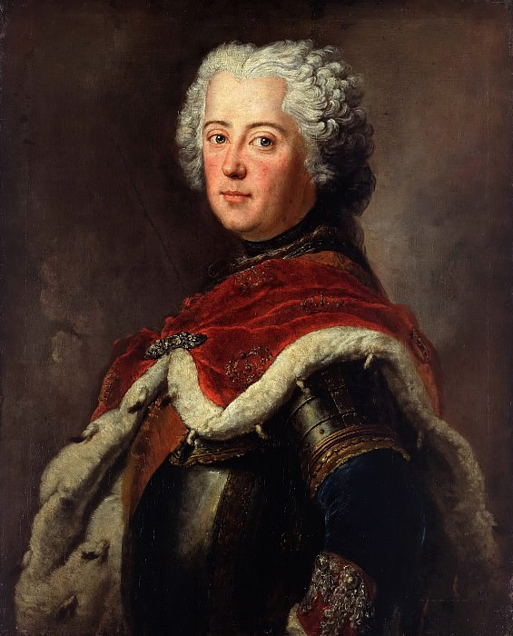 Antoine Pesne (1683-1757) - Frederick the Great as Crown Prince. Part 1