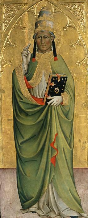Cennino Cennini (c.1370-c.1440) - St Pope. Part 1