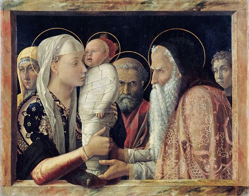 Мантенья, Андреа (1431-1506) - Введение во храм. Часть 1