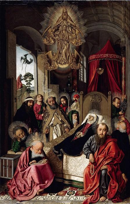 Bartolome Bermejo (c.1440-nach 1498) - The Death of the Virgin. Part 1