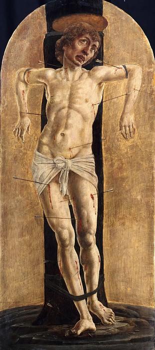 Тура, Козимо (ок1430-1495) - Святой Себастьян. Часть 1