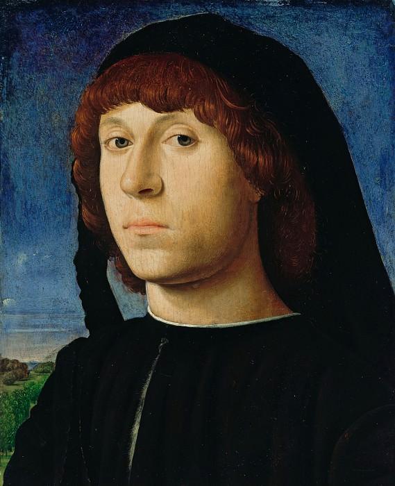 Антонелло да Мессина(ок1430-1479) - Портрет молодого человека. Часть 1