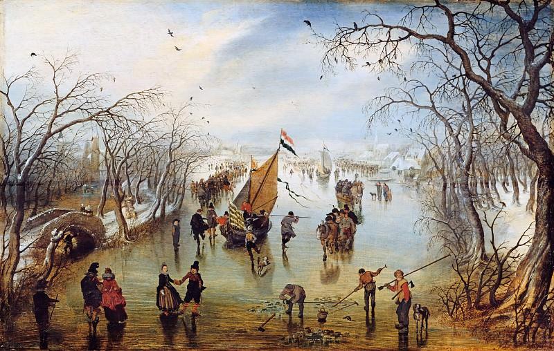 Adriaen van de Venne (1589-1662) - The winter. Part 1