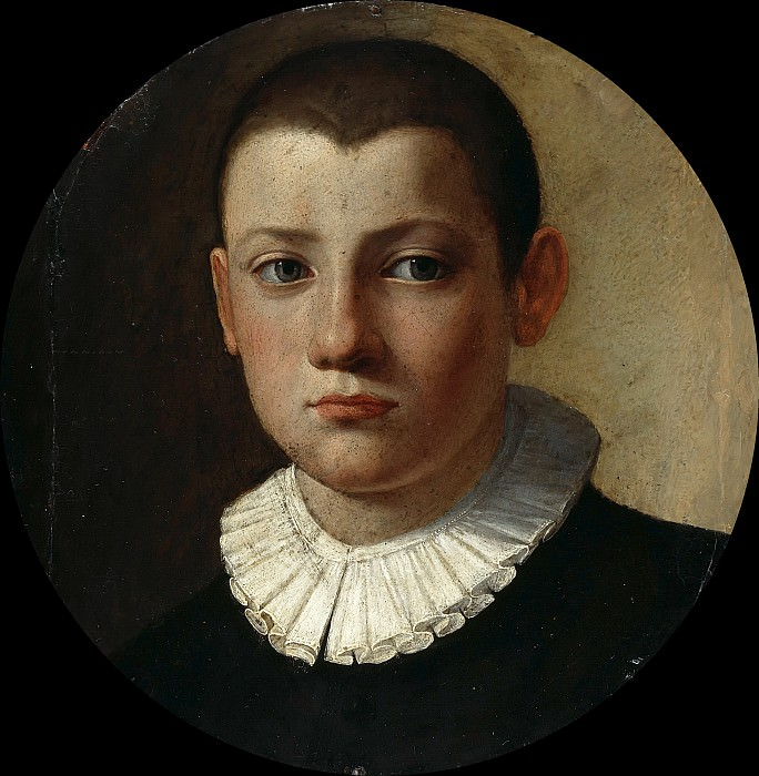 Bronzino (after) - Portrait of a young boy. Part 1