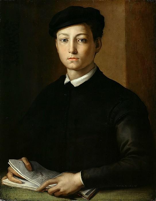 Бронзино, Аньоло (1503-1572) - Портрет юноши. Часть 1