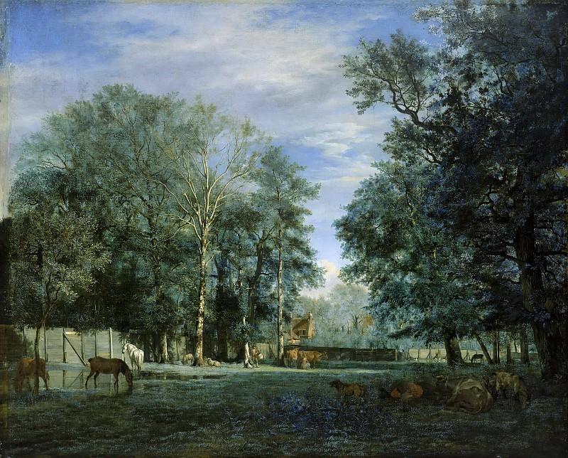 Adriaen van de Velde (1636-1672) - The Farm. Part 1