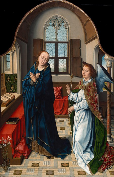 Aelbrecht Bouts (c.1455-1549) - The Annunciation. Part 1