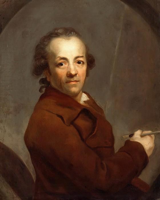 Anton Graff (1736-1813) - Selftportrait. Part 1