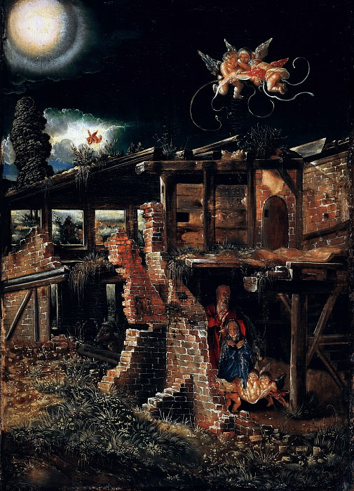 Albrecht Altdorfer (c.1480-1538) - The Nativity. Part 1