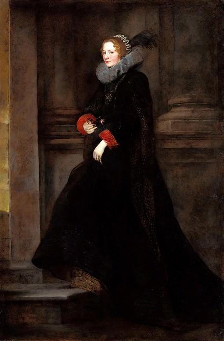 Anton Van Dyck (1599-1641) - Marchesa Geronima Spinola. Part 1