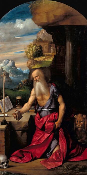 Garofalo (Benvenuto Tisi) (1481-1559) - The Penitent Saint Jerome. Part 1