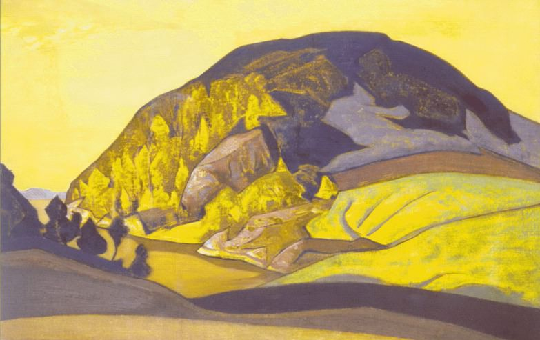 Variegated mountain. Roerich N.K. (Part 2)