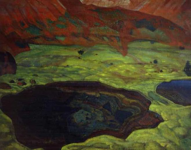 Water live and dead. Roerich N.K. (Part 2)