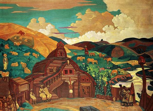 Three joy. Roerich N.K. (Part 2)