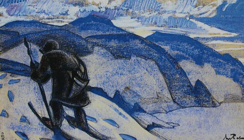 Next (Mountain wanderer). Thumbnail # 80. Roerich N.K. (Part 2)