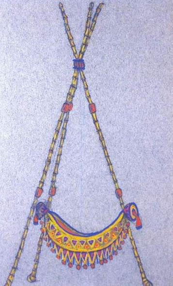 Hammock. Props (4). Roerich N.K. (Part 2)