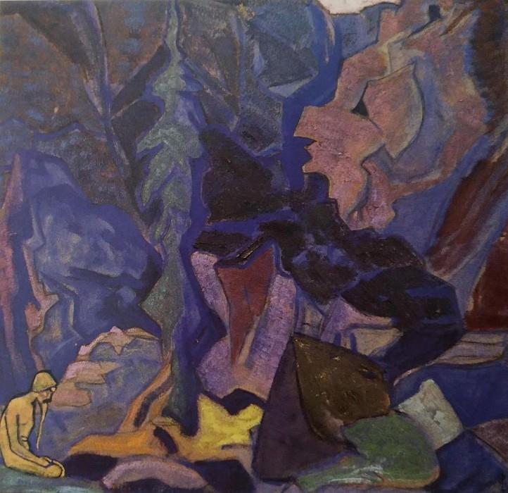 Stolpnik (Sketch). Roerich N.K. (Part 2)