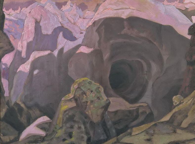 Ronda cliff. Roerich N.K. (Part 2)