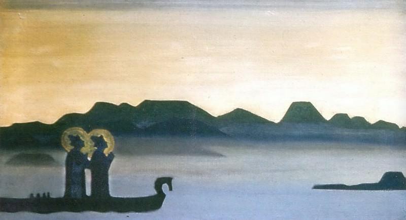 Shining night. Holy and Boris Gleb. Roerich N.K. (Part 2)