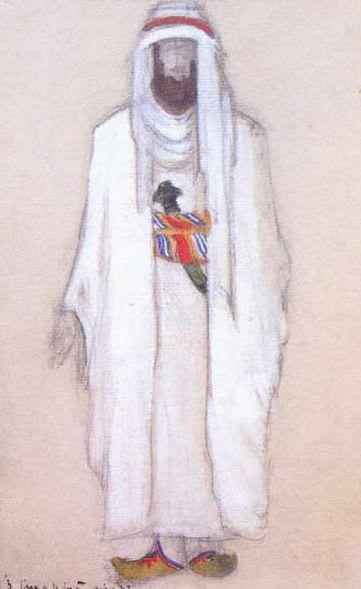 Старый араб. Рерих Н.К. (Часть 2)