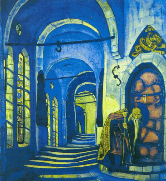 In convent (2). Roerich N.K. (Part 2)