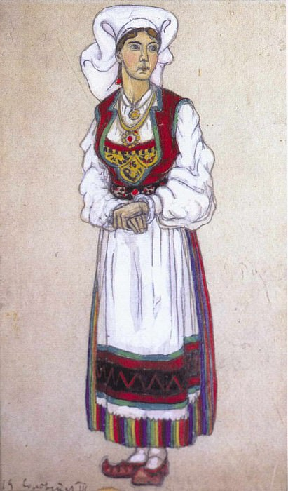 Solveig (the third act). Roerich N.K. (Part 2)