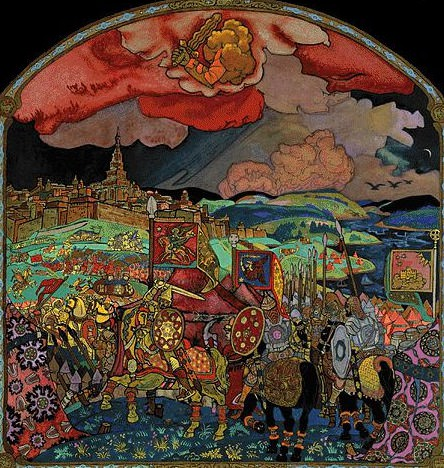 Conquest Kazan. Roerich N.K. (Part 2)